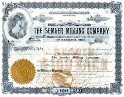 Semler Milling Company of Hamilton, Ohio - 1897