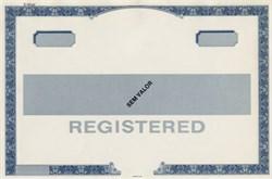 Thomas De La Rue Specimen Certificate