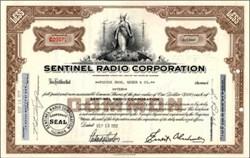 Sentinel Radio Corporation (Early Radio Manufacturer)