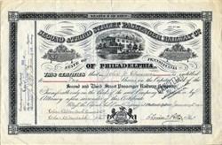Second & Third Street Passenger Railway Company of Philadelphia - Pennsylvania 1904