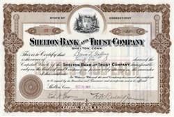 Shelton Bank and Trust Company - Shelton, Connecticut 1911