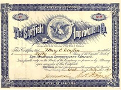 Sheffield Improvement Co. 1891