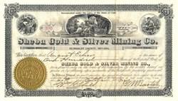 Sheba Gold & Silver Company - Humboldt County, Nevada 1906