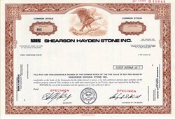 Shearson Hayden Stone Inc. (Became Shearson/American Express)  - Delaware