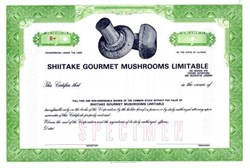 Shiitake Gourmet Mushrooms Limitable