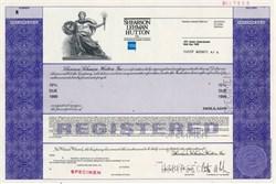 Shearson Lehman Hutton, Inc. an American Express Company -  RARE 10% Note 1989