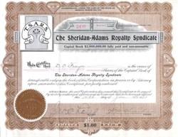 Sheridan-Adams Royalty Syndicate - Arizona 1913