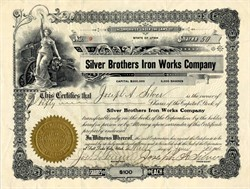 Silver Brothers Iron Works Company -  Utah 1906