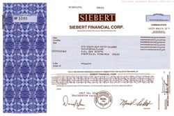 Siebert Financial Corp. - Muriel Siebert as President - First woman to own a seat on NYSE