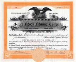 Silver Moon Mining Company - Utah 1916