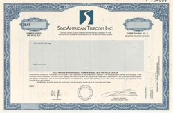 SinoAmerican Telecom Inc.