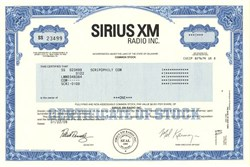 Sirius XM Radio Inc. - Delaware