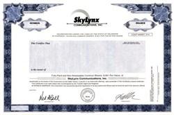 Skylynx Communications, Inc. - Delaware
