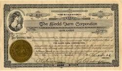 Sledd Farm Corporation - Lyons, Kansas 1930