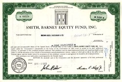 Smith, Barney Equity Fund 1969