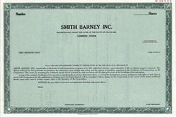 Smith Barney Inc. (Now Morgan Stanley Smith Barney) - Delaware