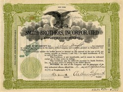 Smith Brothers, Incorporated  (Cough Drops) - Poughkeepsie, New York 1926