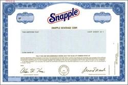 Snapple Beverage Corp.