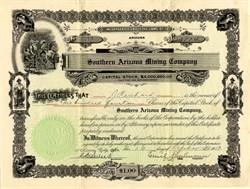 Southern Arizona Mining Company - Santa Cruz. Patagonia Arizona 1913