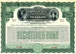 Southern Bell Telephone and Telegraph Company - New York 1911