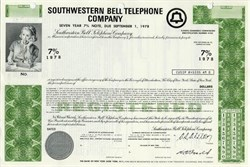 Southwestern Bell Telephone Company - 1970s