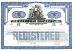 Southern California Edison Company Ltd. - California 1939