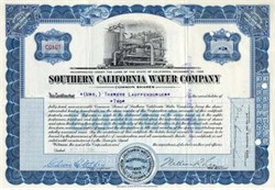 Southern California Water Company - 1948
