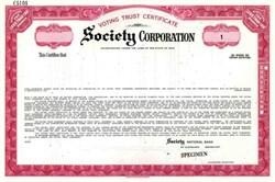 Society Corporation - Ohio ( now KeyCorp )