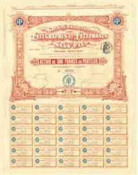 Societe Francaise Des Telegraphes andTelephones Sans Fil 1903
