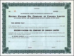 Socony - Vacuum Oil Company of Canada Limited