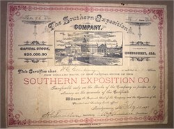 Southern Exposition Company - Montgomery, Alabama 1890