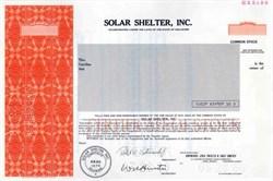 Solar Shelter, Inc.