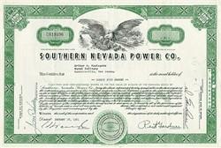 Southern Nevada Power Company