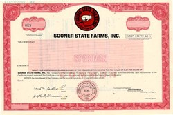 Sooner State Farms, Inc. - Lexington, Oklahoma 1982