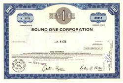 Sound One Corporation / Liberty Livewire Corporation