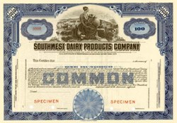 Southwest Dairy Products Company ( Became Foremost Dairies )