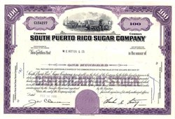 South Puerto Rico Sugar Company - Old Farm Scene Vignette