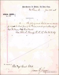 Special Orders Letter 1865 - New Orleans