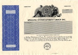Spelling Entertainment Group Inc. (  produced popular shows such as Charmed, Beverly Hills, 90210, 7th Heaven, Dynasty and Melrose Place)