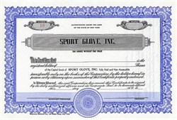 Sport Glove, Inc.- New York