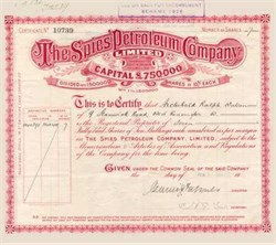 Spies Petroleum Company Limited