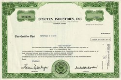 Spectex Industries, Inc. - New York