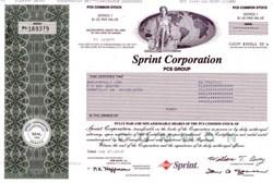 Sprint Corporation PCS Group