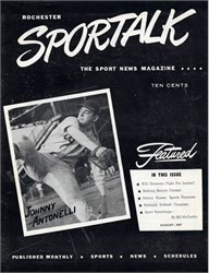 Sportalk (Sport News Magazine) signed by Buster Crabbe (Starred as Flash Gordon)  - New York 1947