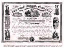 Stafford Meadow Coal Iron City Improvement Company 1858