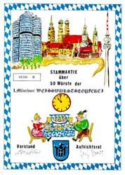 Stammaktie uber 50 Wurste der Munchner