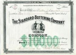Standard Butterine Company - West Virginia 1901