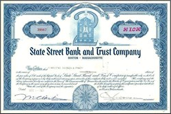 State Street Bank and Trust Company - Boston, Massachusettes