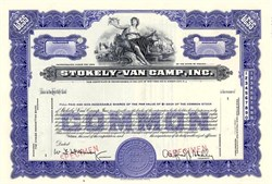 Stokely -Van Camp, Inc. - Indiana