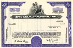 Stokely-Van Camp, Inc.  (Now ConAgra) - New Jersey 1977